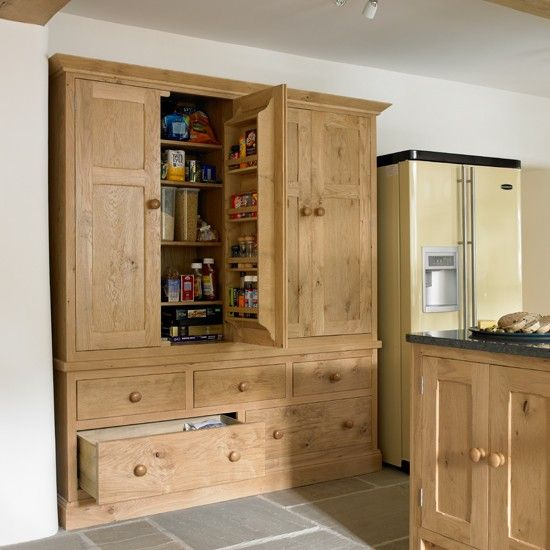 Beautiful Wall Cupboards rustic and elegant painted cupboardswall Bespoke Kitchen Larder Cupboard Kitchen Designs Country