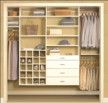 As An Authority In Closet Design More Space Place Dallas Offers Unique Custom Closet Systems Contact Us To Begin Creating Your Ideal Closet Organizer