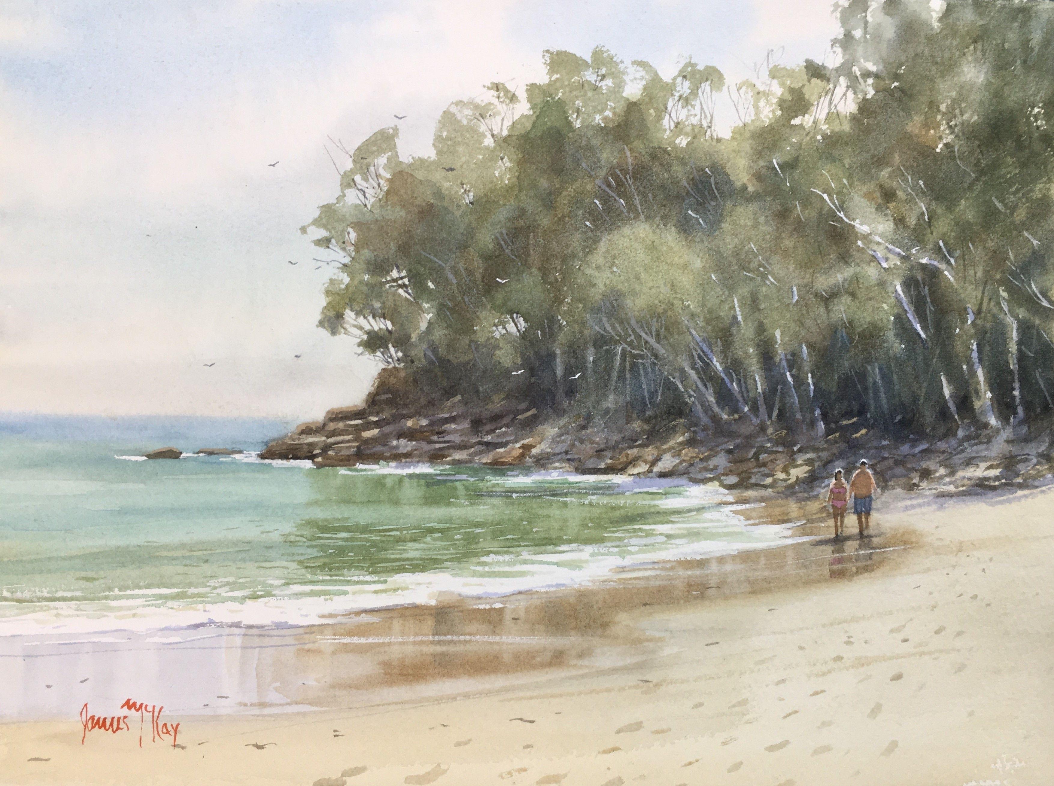 James mckay red hill art gallery brisbane painting