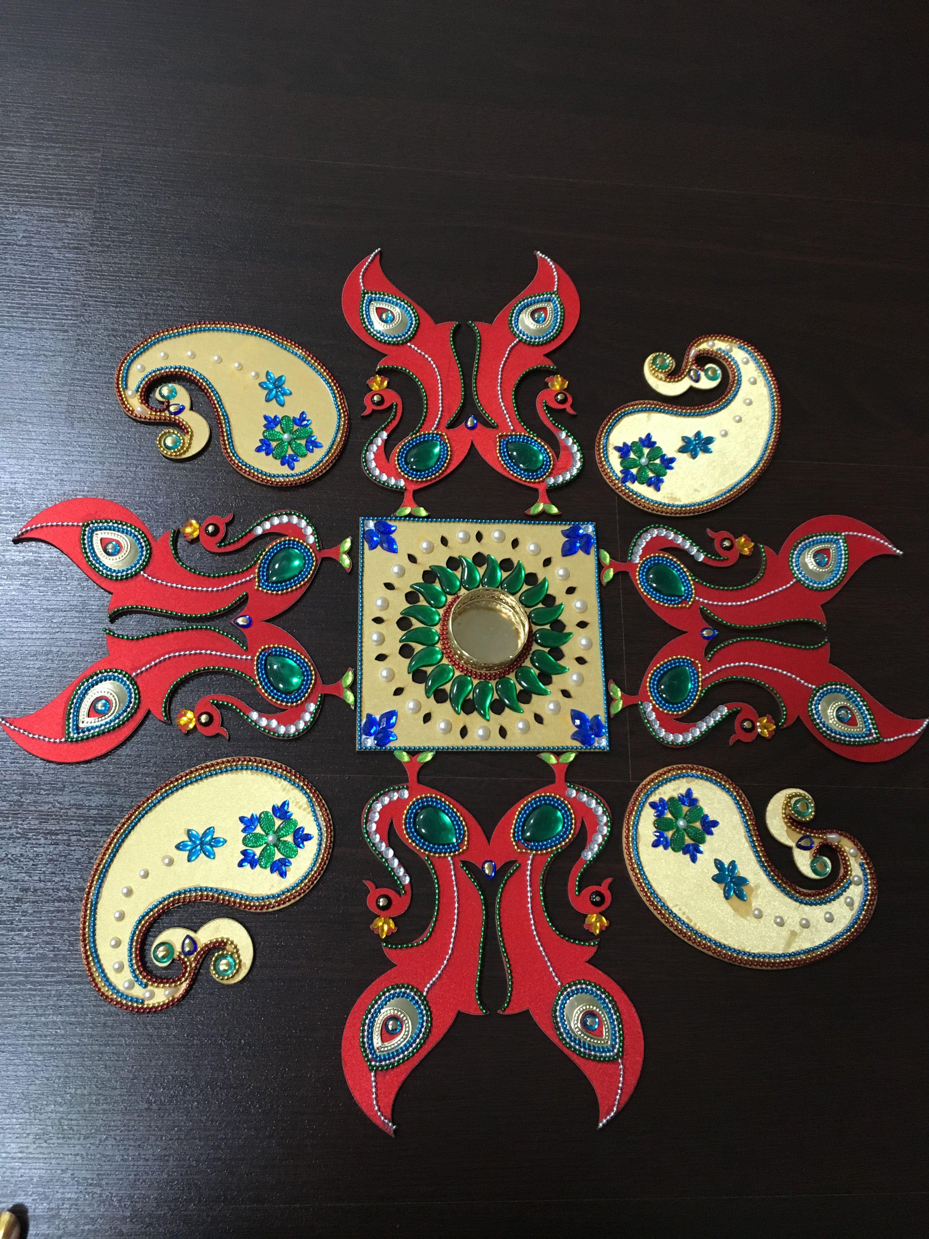 pin by crafterinadxb on handmade rangoli pinterest