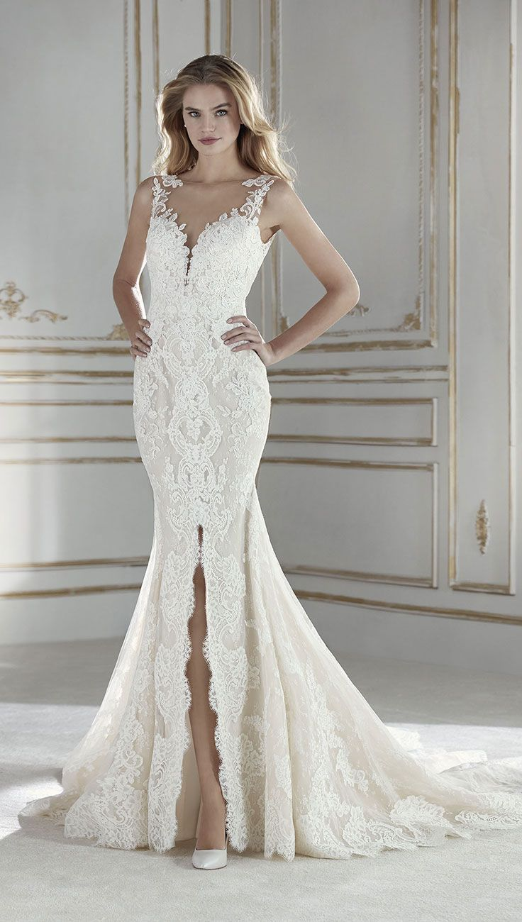 Vestiti Da Sposa In Pizzo 2018.Fall In Love With La Sposa 2018 Bridal Collection Vestiti Da