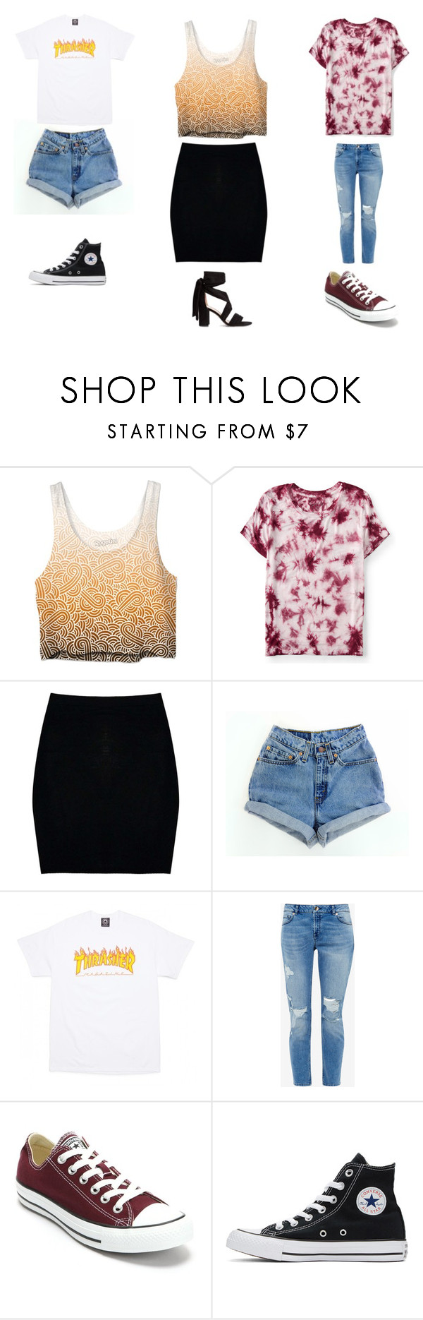 """UnTiTLeD #47"" by katie-lovebug on Polyvore featuring Aéropostale, Boohoo, Ted Baker and Converse"