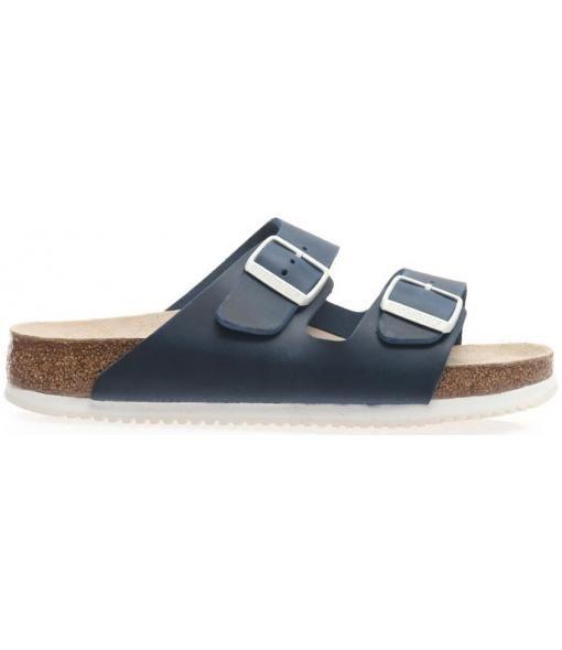 Zapatos plateado de verano formales Birkenstock Arizona para mujer uD92O3h