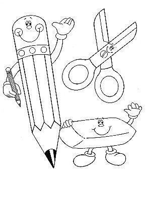 Utiles Escolares Utiles Escolares Imagenes De Dibujos Infantiles Dibujos Para Colorear