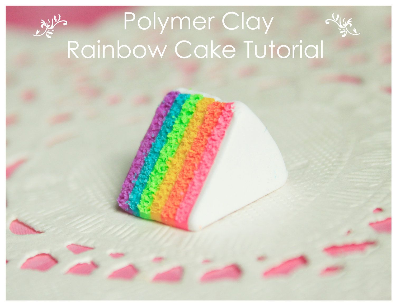 Fimo/Polymer Clay cake