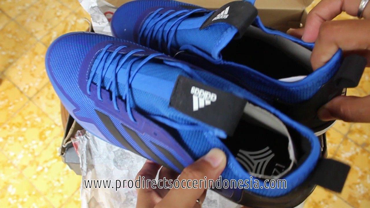 Sepatu Futsal Adidas Ace Tango 17 1 Tf Blue Core Black Ba8535