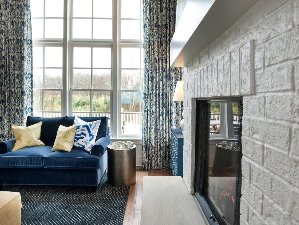 10 Top Window Treatment Trends  Hgtv Window And Curtain Valances Custom Living Room Window Design Ideas Decorating Design