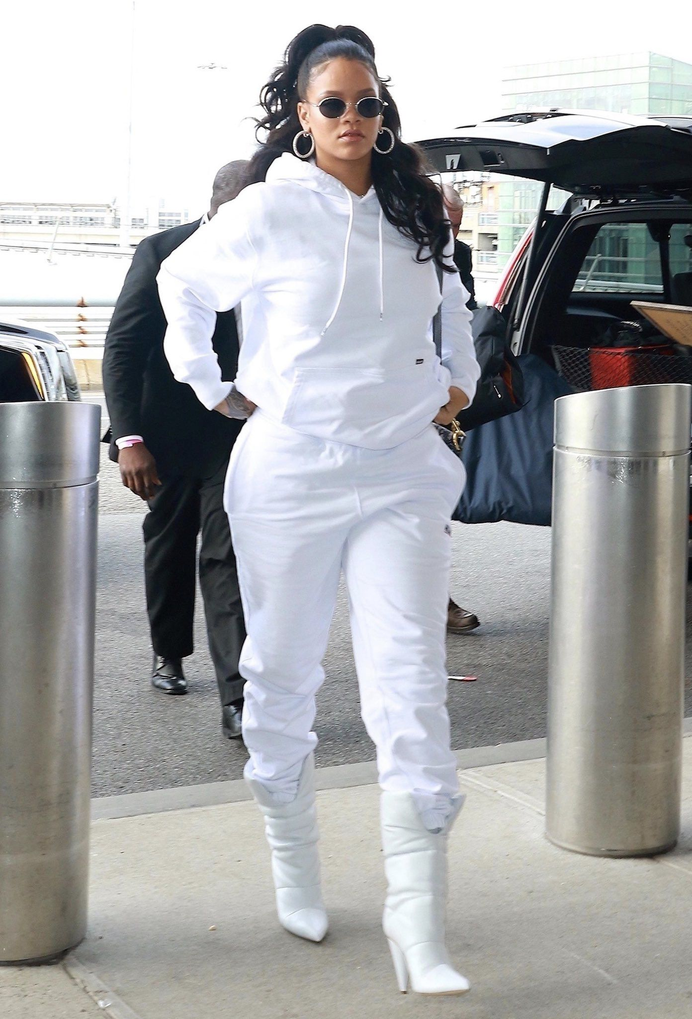 Image result for rihanna at the airport