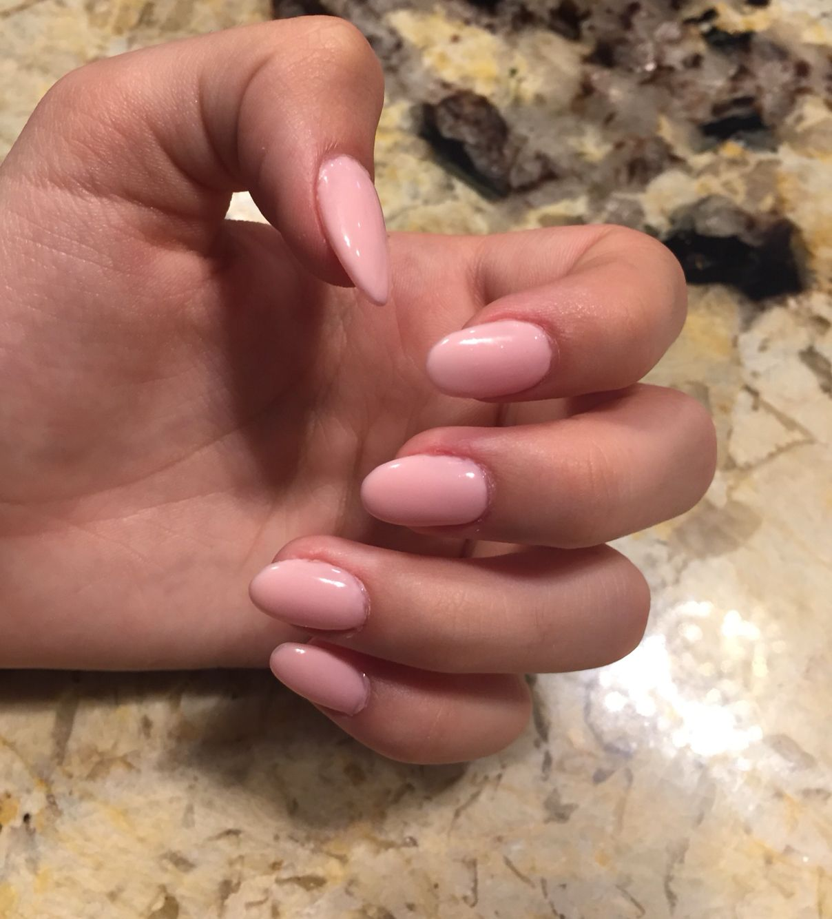 Nude pink almondoval acrylic nails nails pinterest oval nude pink almondoval acrylic nails prinsesfo Choice Image