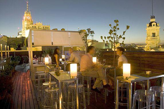 ático De Las Letras Hotel De Las Letras En Madrid Terraza