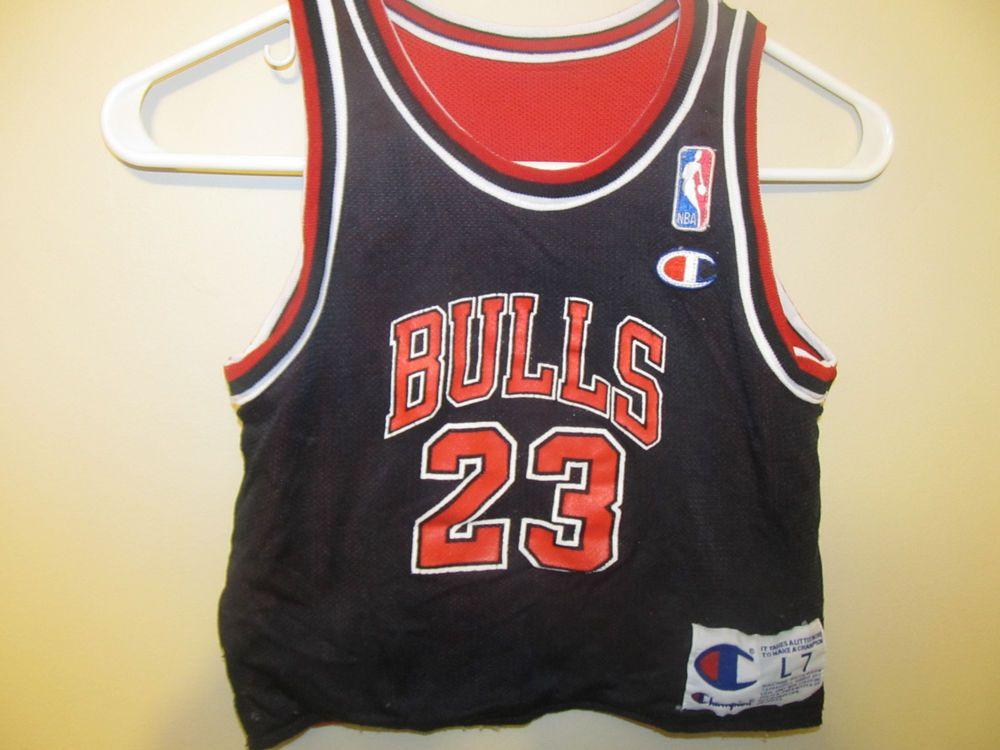 4261e290c5f Vintage Michael Jordan Chicago Bulls Reversible Champion Jersey - Toddlers  L(7) #Champion #ChicagoBulls