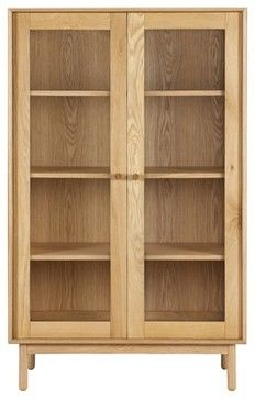 Larsson Display Cabinet - contemporary - Bookcases - Freedom & Larsson Display Cabinet - contemporary - Bookcases - Freedom ...