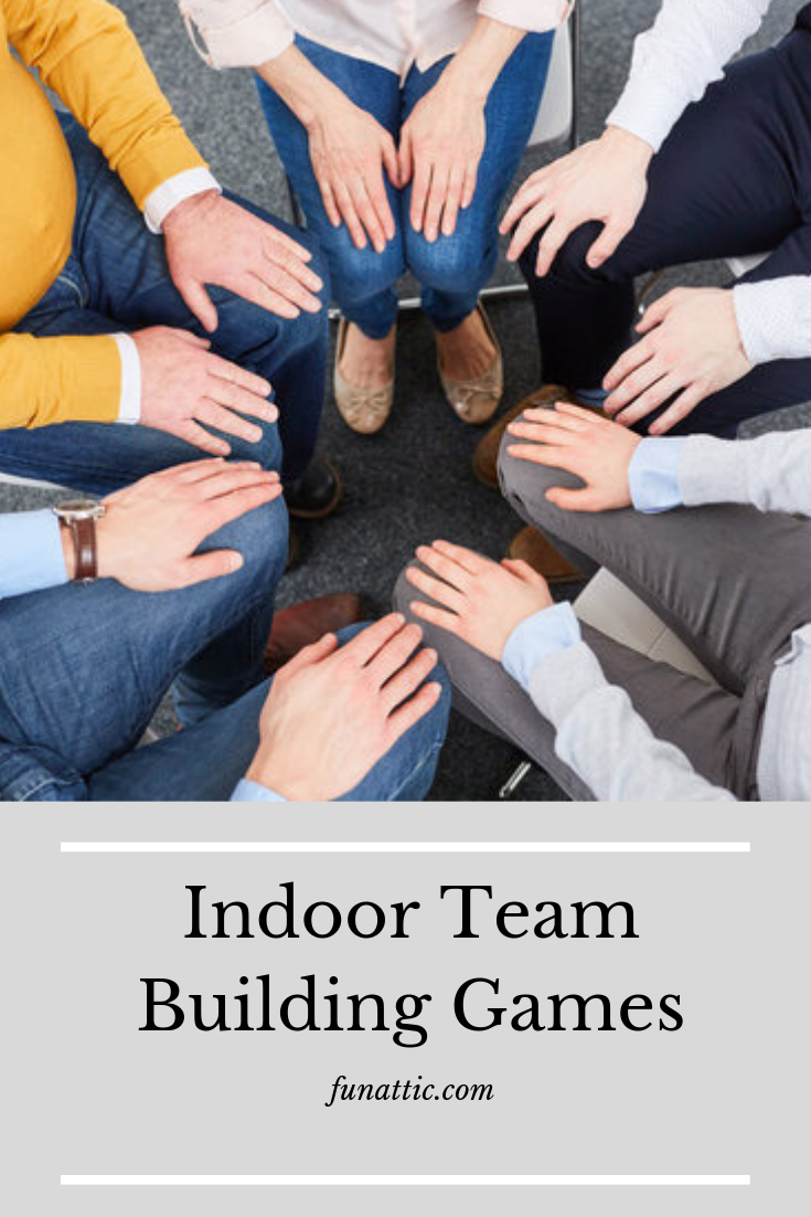 Are you looking for some fun indoor team building games? Well, you have come to the right place. Here you will find a list of 17 creative games that will get you working as a team. Check it out! #TeamBuildingGamesForCoworkers #TeamBuildingGamesForTeens