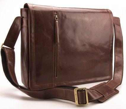 08d2a871cb0 Visconti Vintage Genuine Leather Work A4 Laptop Messenger Bag   VT5 - Vintage  Tan