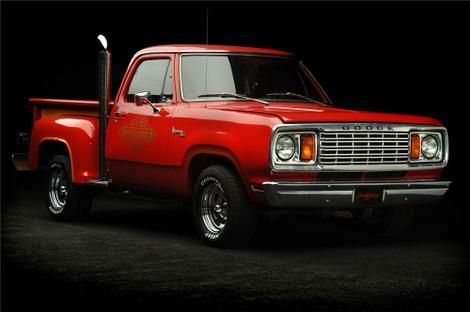Like This Pic If You Remember Dodge S Little Red Express From The Late 70s Old Dodge Trucks Dodge Trucks Dodge