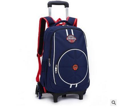 Kids Wheeled Backpack kids Rolling Backpack for School Children ...