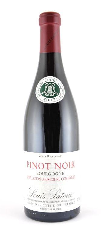 Louis Latour Pinot Noir Bourgogne 2009 750ML | Wines from ...