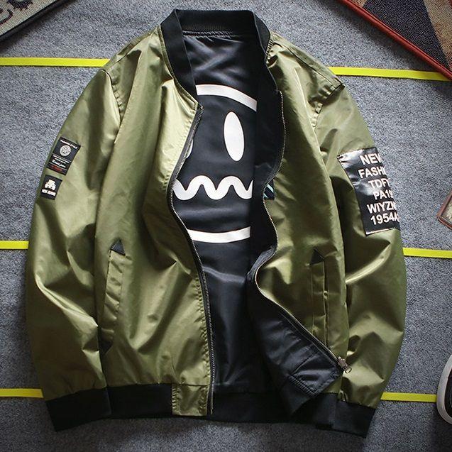 Buy FORSETI Reversible Bomber Jacket  01e33fe6f28