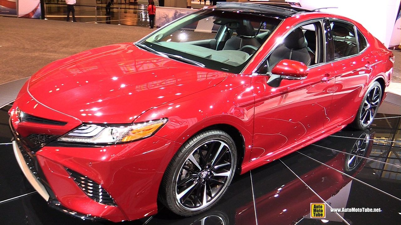 2018 Toyota Camry Exterior and Interior Walkaround
