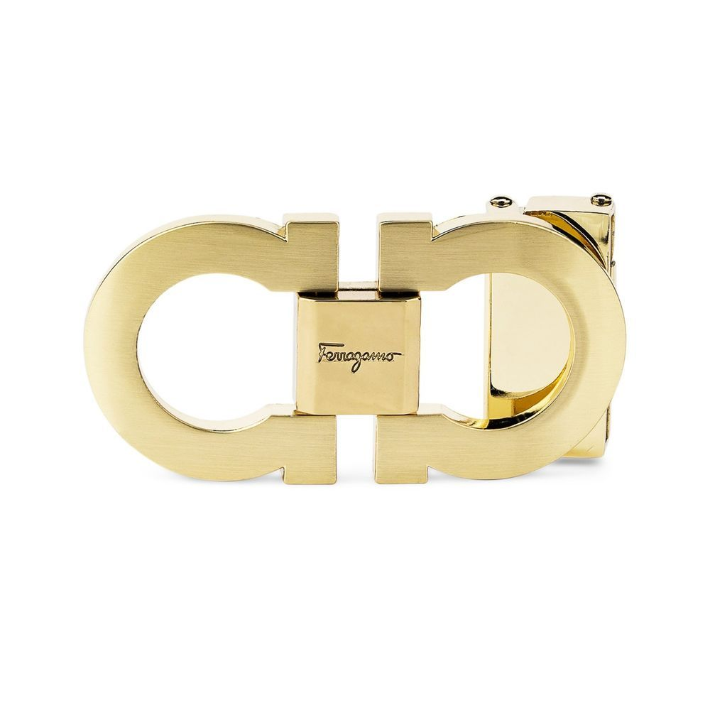 c7601a7ccc1 Salvatore Ferragamo Belt buckle Gancini Gold Mens belts For 35 mm ...