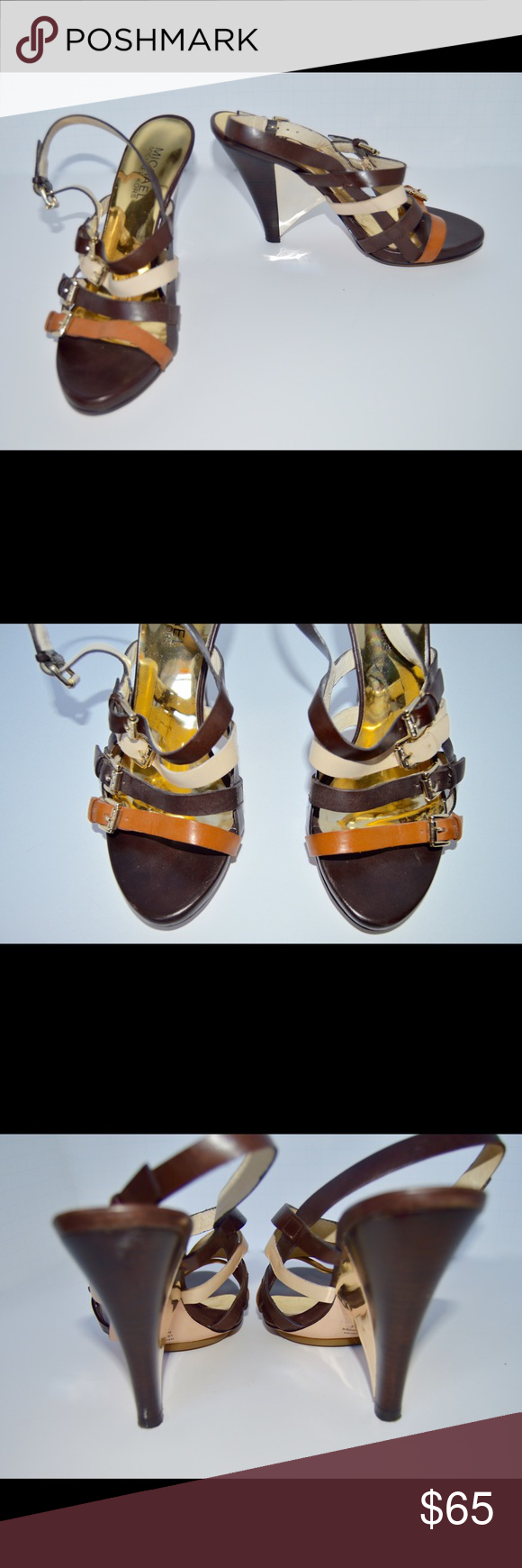 Michael Kors Heels Michael Kors Heels in great condition! Comment any questions you may have! Michael Kors Shoes Heels