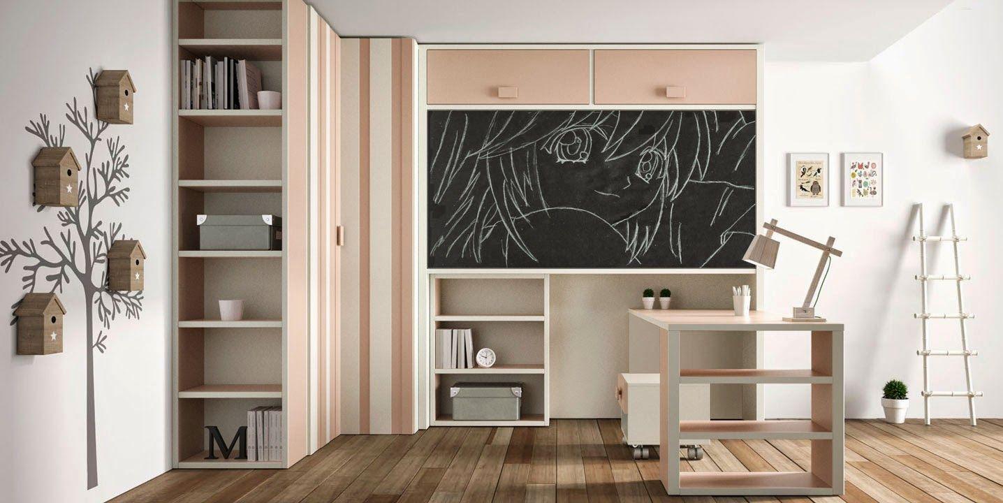 Dormitorios infantiles y juveniles para ni as ni os y - Habitaciones juveniles ninas ...
