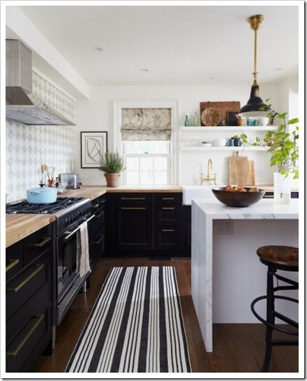 Desire To Decorate Kitchens Without Upper Cabinets I Can Dream
