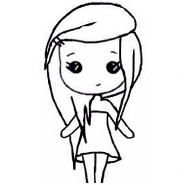Chibi template | Drawing ideas | Pinterest | Dessin, Fêtes ...