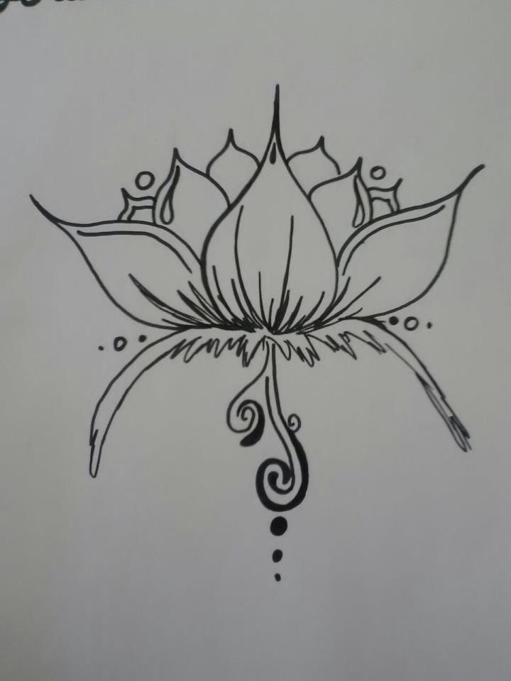 Lotus Flower Henna Tattoo Designs: Henna Lotus Design By ~BurdenArrow On DeviantART
