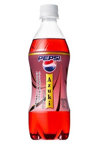 Pepsi Azuki from Japan. I want it.