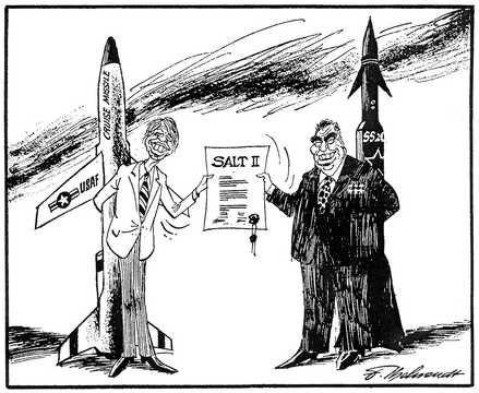 1972 Salt Strategic Arms Limitation Treaty Were The Talks That