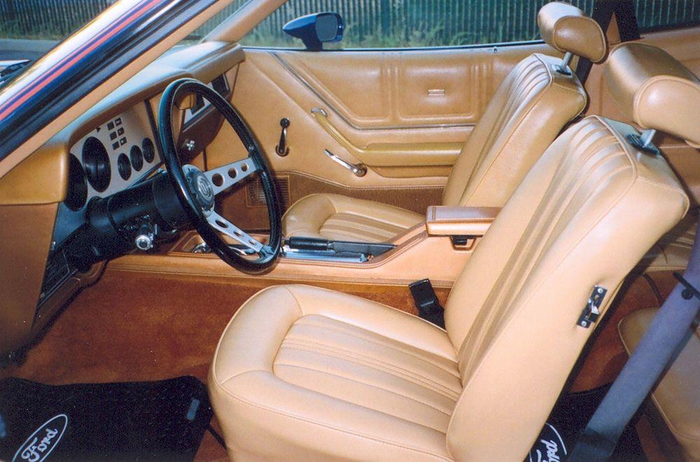 Dark Midnight Blue 1978 Ford Mustang Ii King Cobra Hatchback Mustang Ii Mustang Interior King Cobra