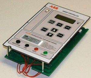 Abb Cq900r Smart Controller This Is A Capacitor Bank Controller For Power Factor Correction It Makes Power More Usable Electronics Design Capacitor Usability