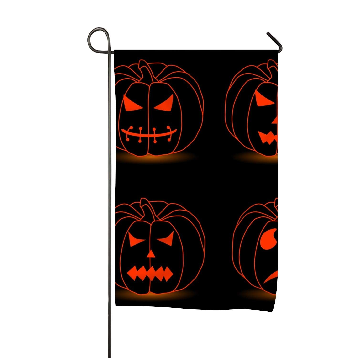 halloween house decor : niaocpwy halloween garden flag holiday