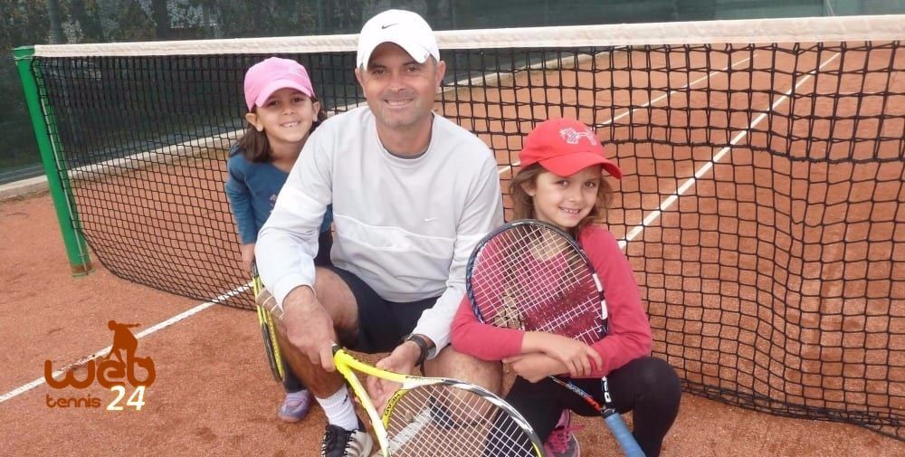My Daddy My Coach Tennis Lessons With Kids Page 1 Of 3 Tennis Lessons Kids Tennis Tennis Workout