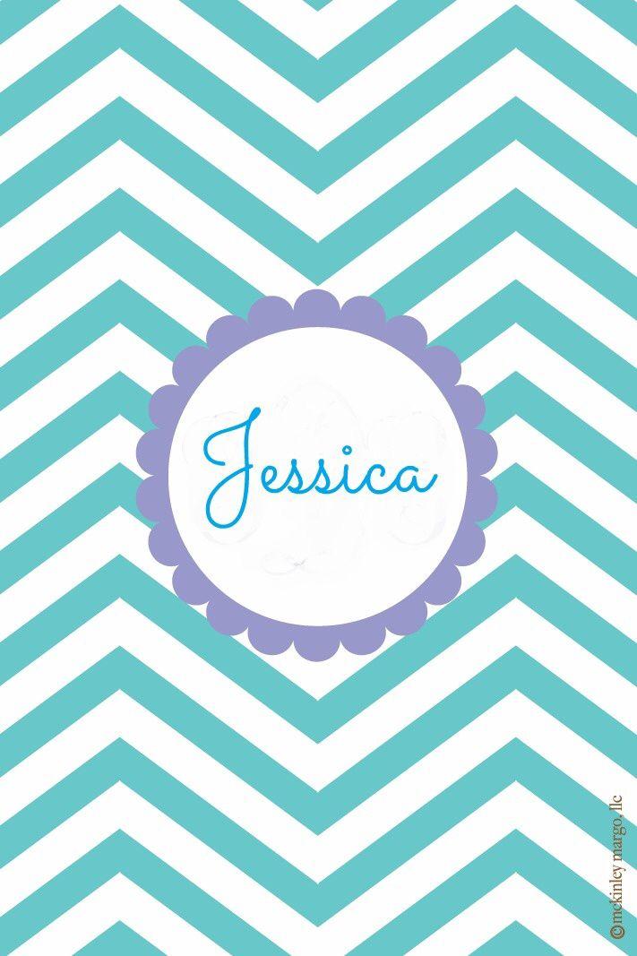 Jessica Monogram Wallpaper Name Wallpaper Lilly Pulitzer Prints