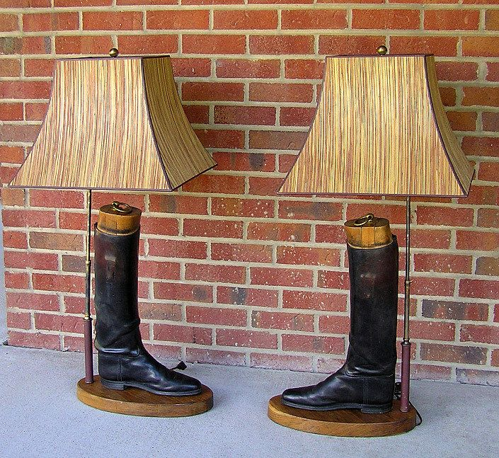 Image Result For Riding Boot Lamps English Riding Boots Riding Boots Lamp