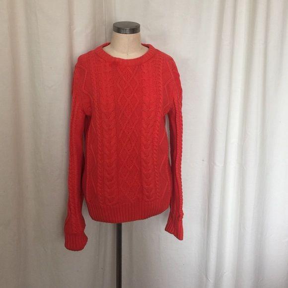 5e1c54cc2f0 H&M l.o.g.g. Cable knit crew sweater Men's size medium - wears like ...