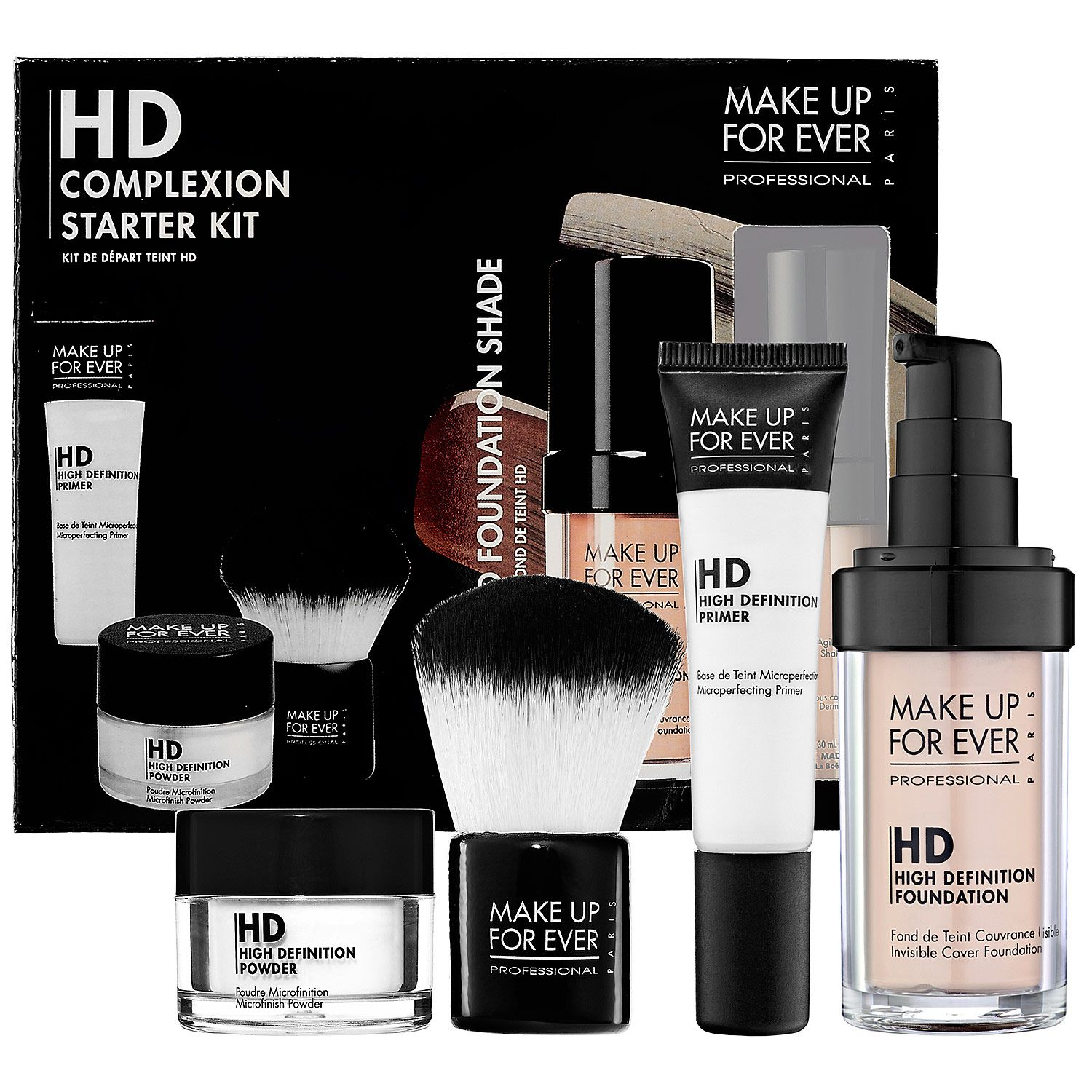MAKE UP FOR EVER HD Complexion Starter Kit #Sephora #Makeup ...