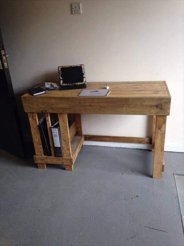 Amazing Unique DIY Wooden Pallet Desk Ideas Awesome Ideas