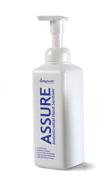 Assure Sanitising Mousse Alcohol And Fragrance Free