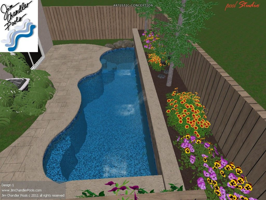 Swimming Pool Design Big Ideas For Small Yards Small Pool Design Pools For Small Yards Small Backyard Pools
