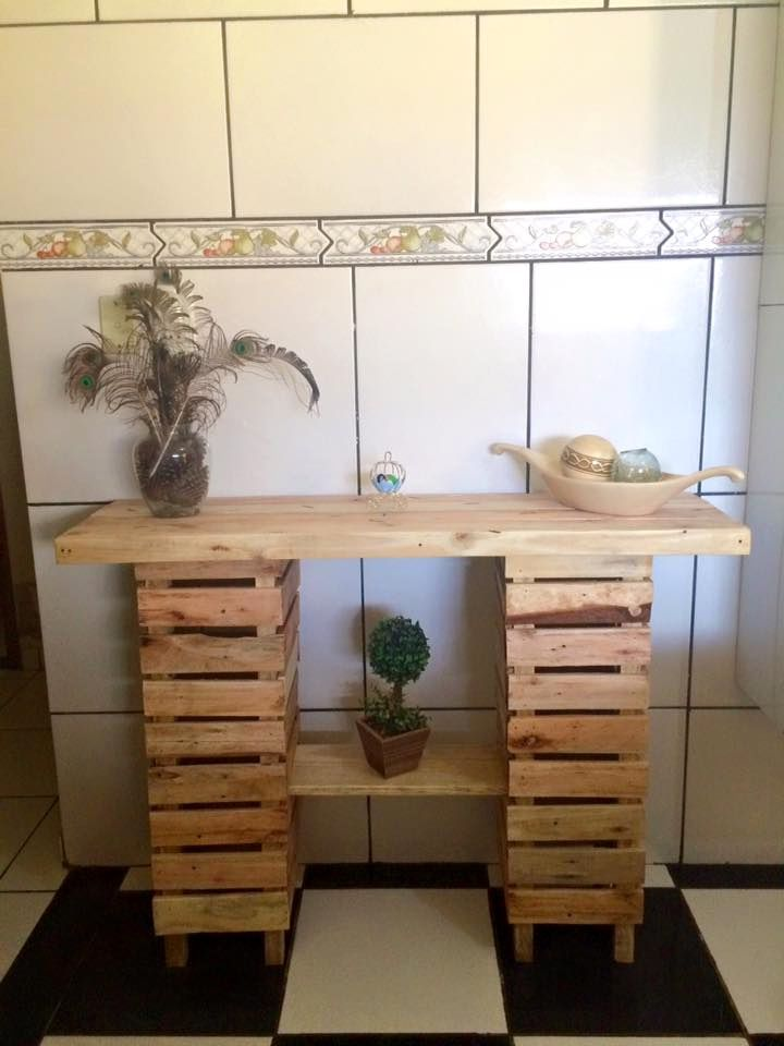 Sideboard Made Out Of Pallets Reciclaje Muebles Muebles Reciclados Y Muebles Con Palet