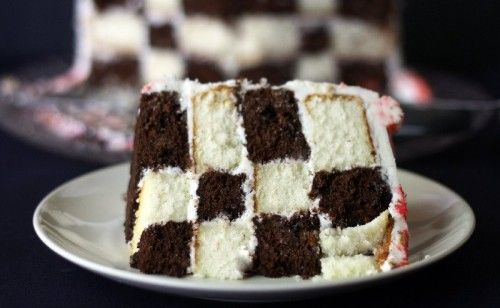 Checkerboard Cake Cake Recipes Checkered Cake Cake Decorating