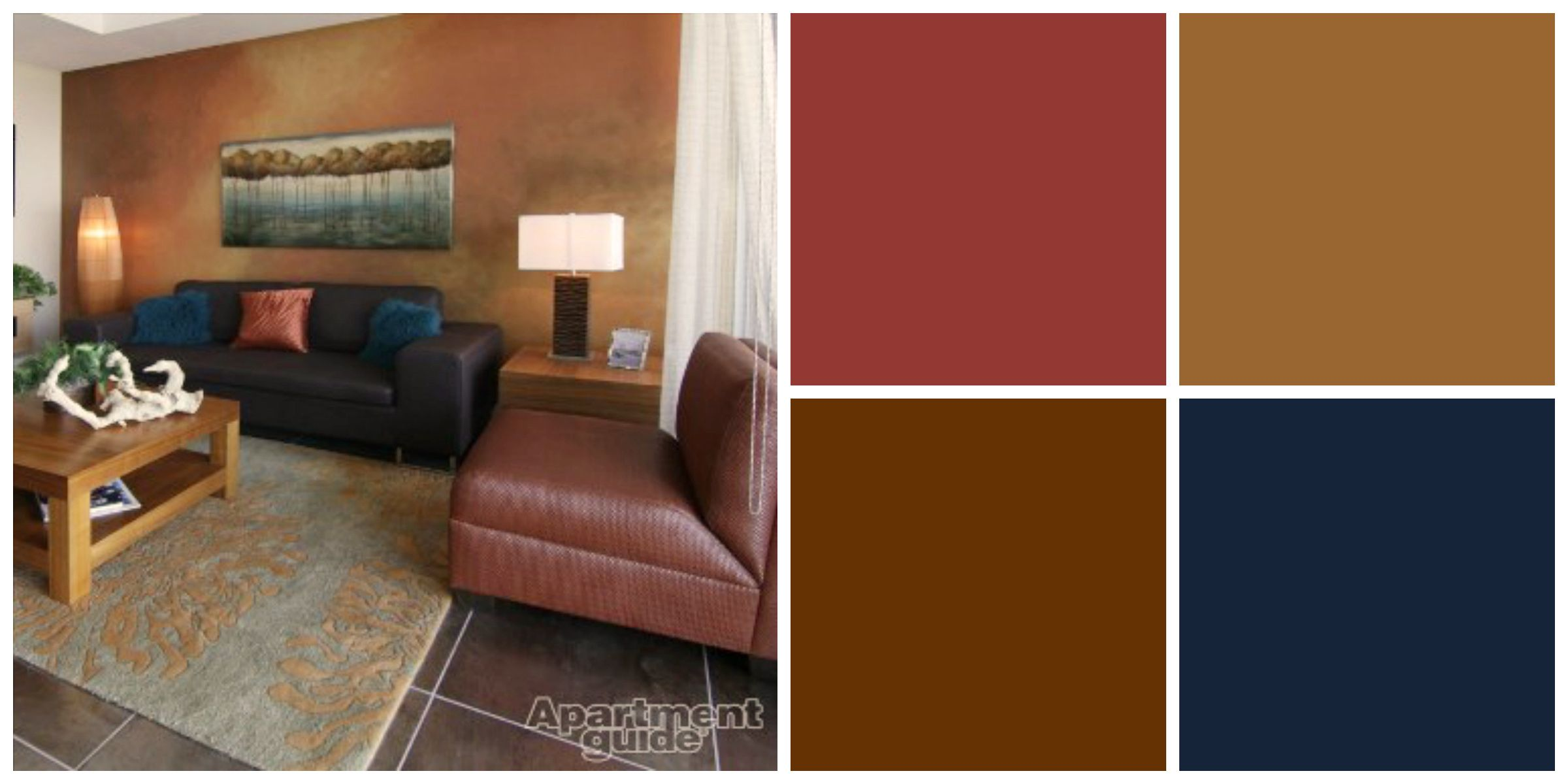 Earth Tones Are Easy To Blend With Other Colors We