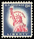 1958 8c Statue of Liberty Scott 1042 Mint F/VF NH   www.saratogatrading.com