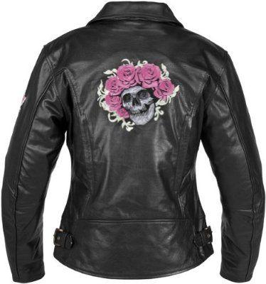 River Road Women's Grateful Dead Skull & Roses Jacket - Large/Black