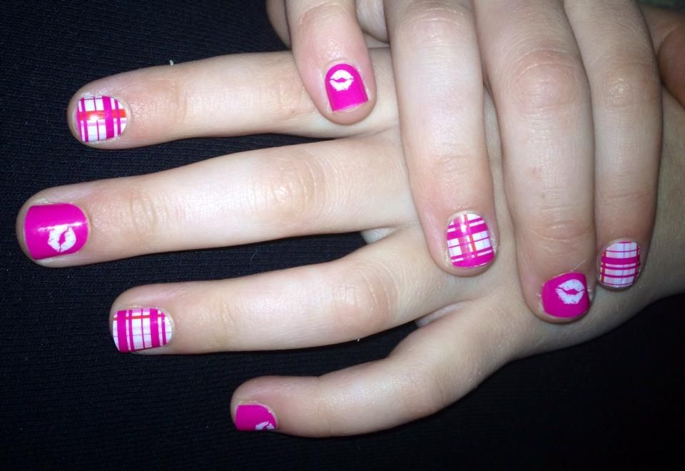Mommy and Me #manicure : Easy to apply, chemical free, safe for kids ...