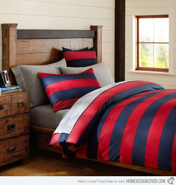 15 Comfy Boys Bedroom Sheets Home Design Lover Striped Duvet Covers Striped Duvet Boys Duvet Cover