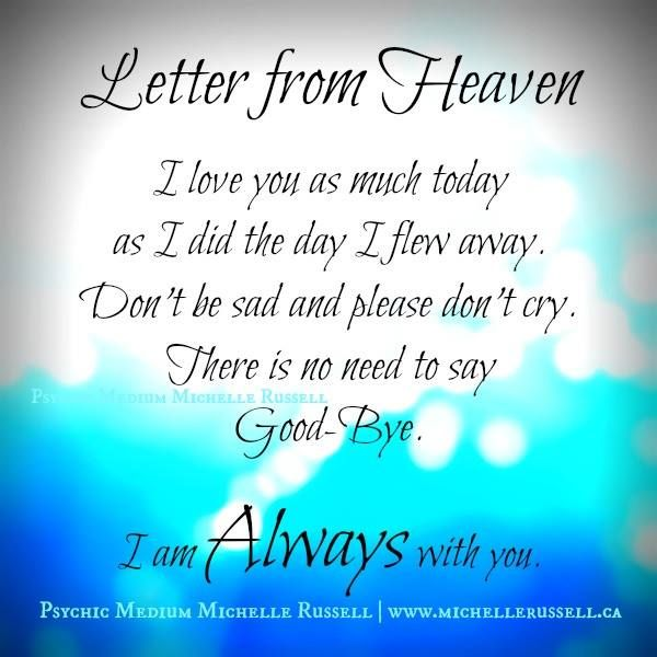 Image Result For Thinking About You From Heaven  Craft Ideas